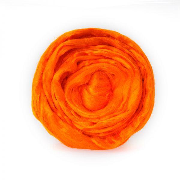 Вискоза цветная Ярко Оранжевый (Троицкая)