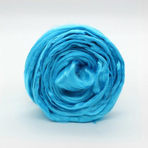 Вискоза цветная Голубая Бирюза (Троицкая)
