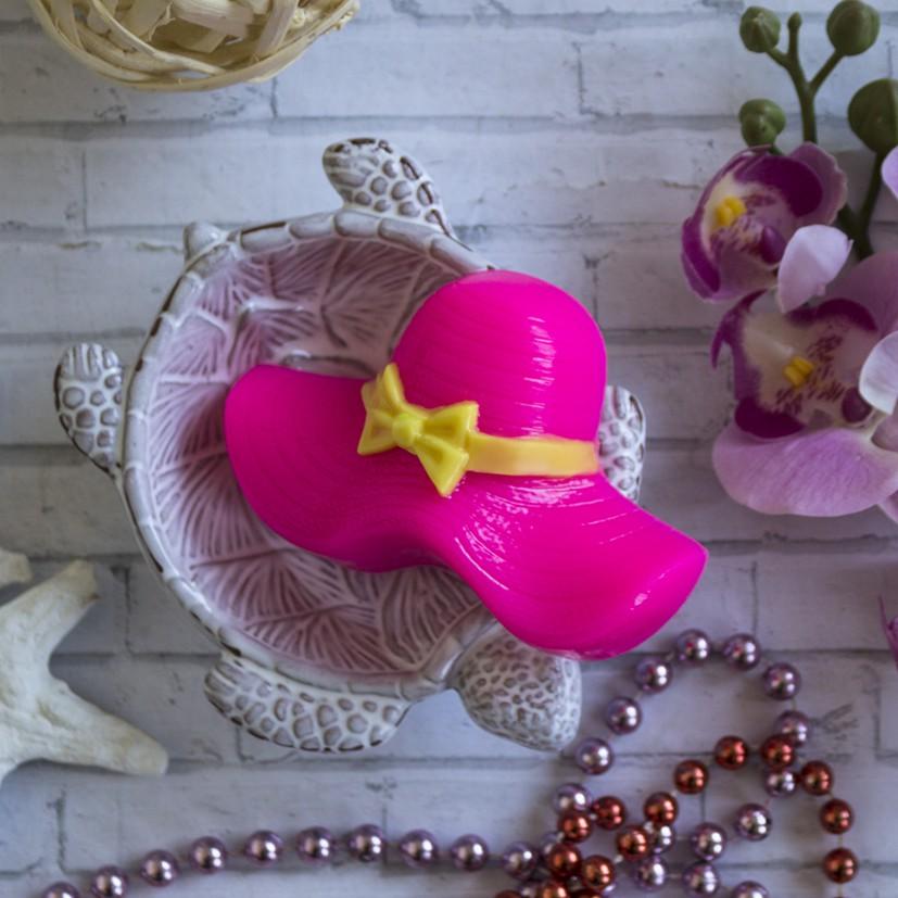 """Пластиковая форма """"Дамская шляпа"""""""