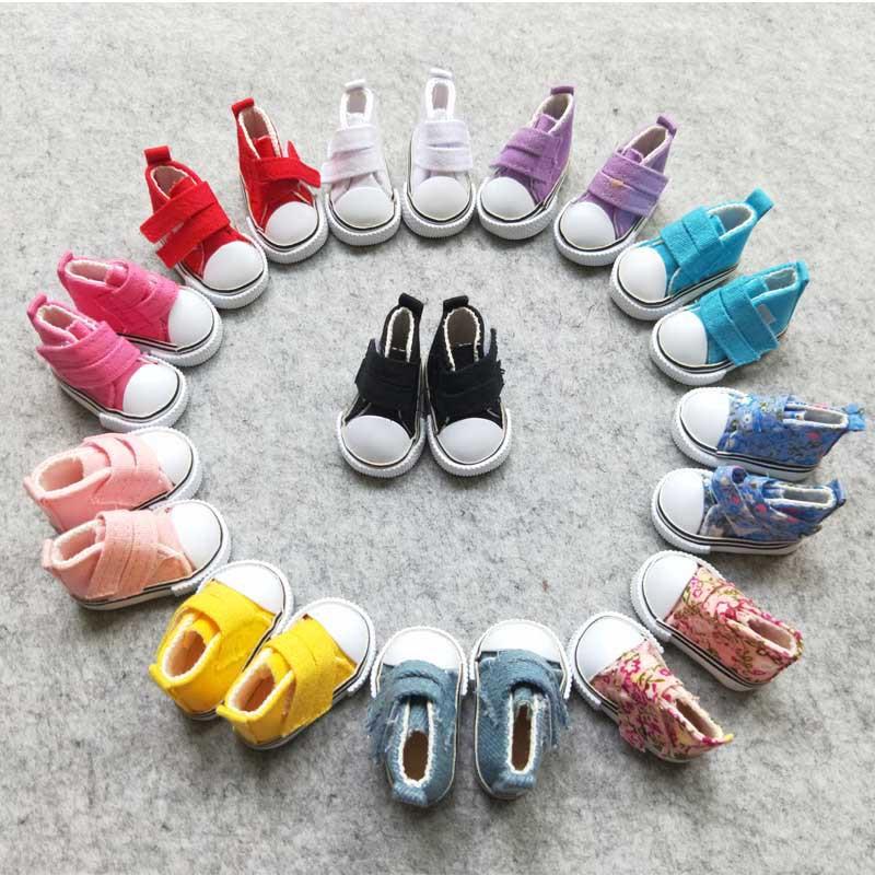 Обувь для куклы, цвет: ЯРКО-РОЗОВЫЙ. Размеры:5*2.5cm